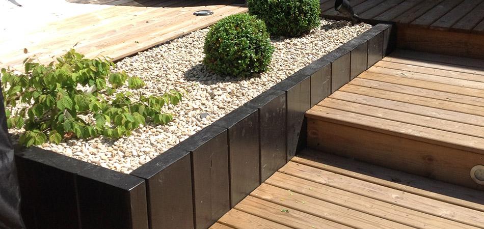 Terrasse bois  David Pestel  Paysagiste Elagueur